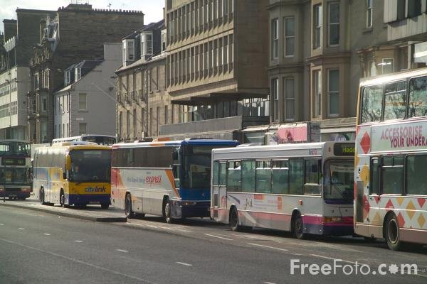 Some Edinburgh buses for you.