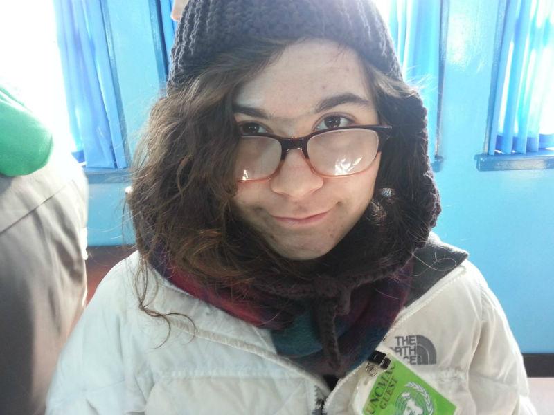 Hannah at the DMZ-w800-h600