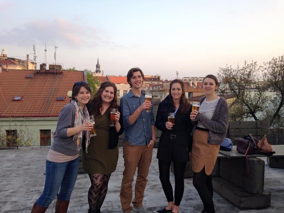 Trinity Cert TESOL trainees Prague