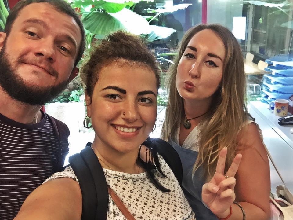 TEFL trainees Barcelona