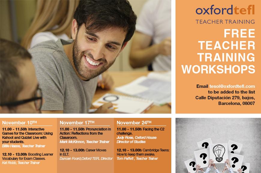 free teacher training